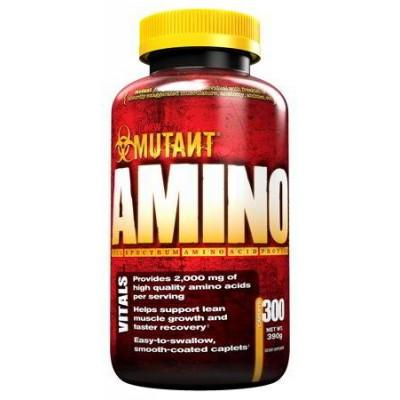 Комплекс аминокислот MUTANT AMINO, 300 таблеток
