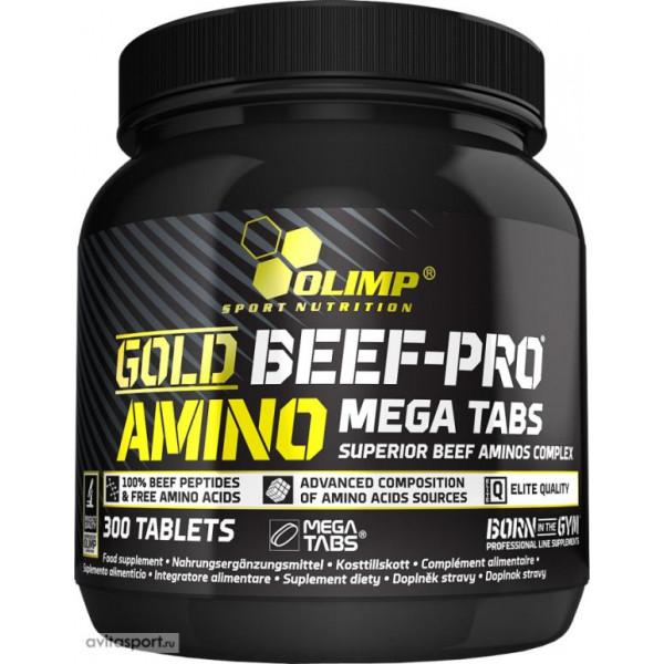 Комплекс аминокислот OLIMP AMINO GOLD BEEF-PRO, 300 таб