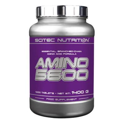 Комплекс аминокислот SCITEC AMINO 5600, 1000 tab