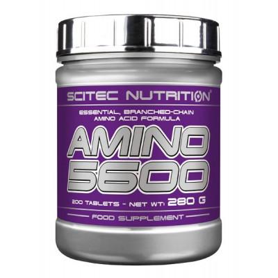 Комплекс аминокислот SCITEC AMINO 5600, 200 tab