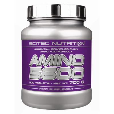 Комплекс аминокислот SCITEC AMINO 5600, 500 tab