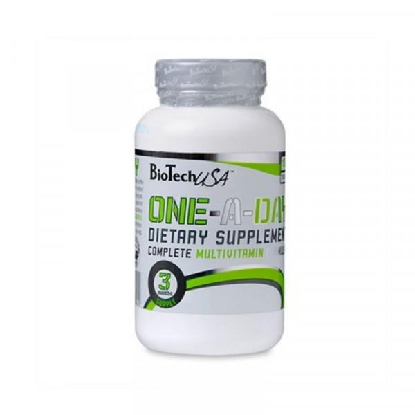 Витаминно-минеральный комплекс BIOTECH ONE A DAY, 100 таблеток