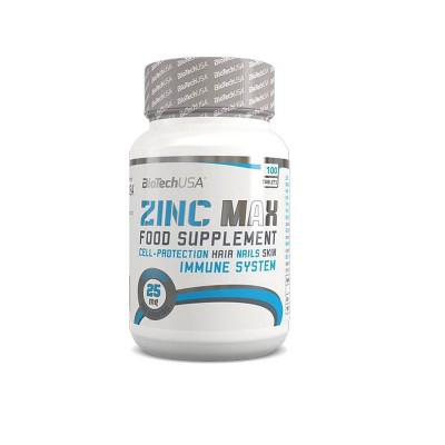 Цинк BIOTECH ZINK MAX, 100 таблеток