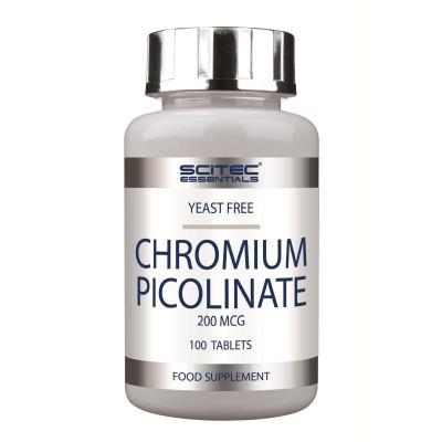 Пиколинат хрома SCITEC CHROMIUM PICOLINATE, 100 таблеток