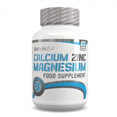 BIOTECH CALCIUM ZINC MAGNESIUM, 100 таблеток