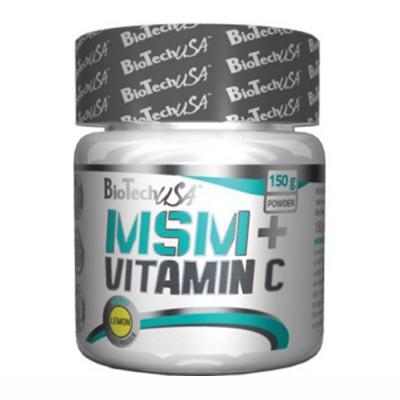 BIOTECH MSM + VITAMIN C, 150 g