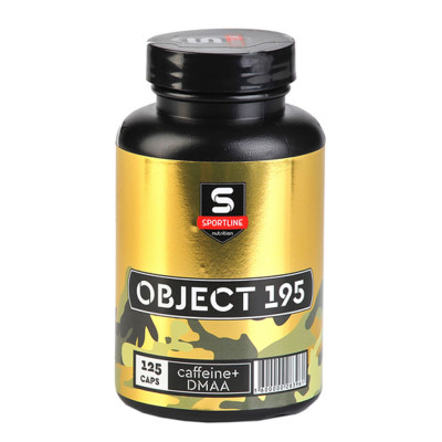 SPORTLINE OBJECT 195 with DMAA, 125 капсул