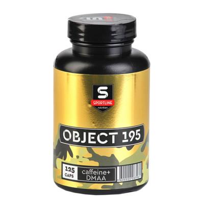 Комплекс кофеина и экстракта герани SPORTLINE OBJECT 195 with DMAA, 125 капсул