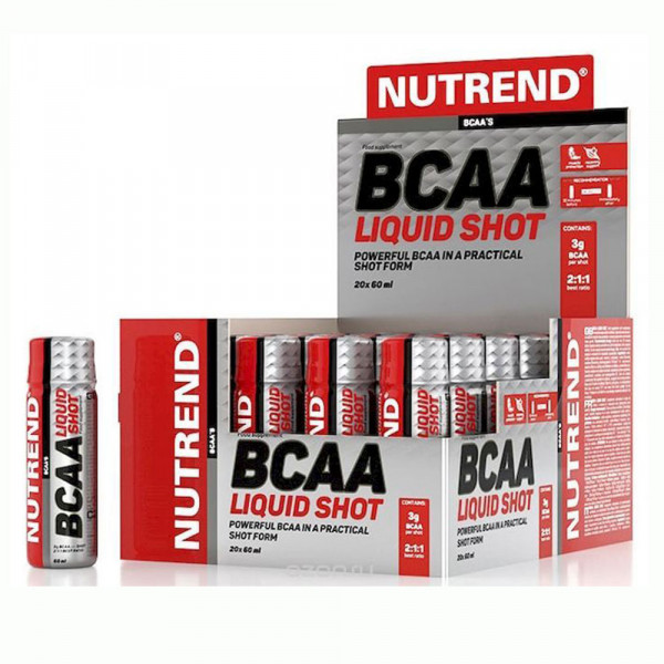 NUTREND BCAA LIQUID SHOT, 60 мл