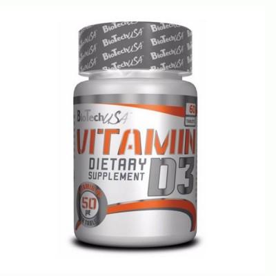 BIOTECH VITAMIN D3, 60 капсул