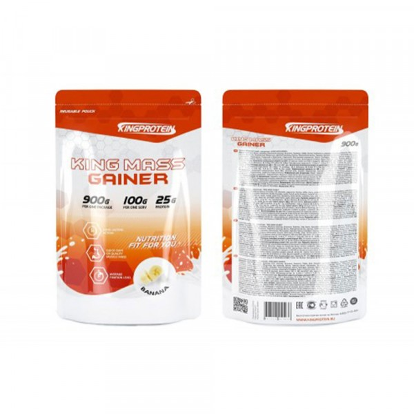 KING PROTEIN KING MASS GAINER, 900 г