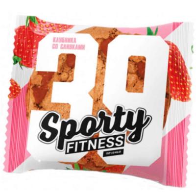 Печенье протеиновое SPORTY FITNESS, 65 г