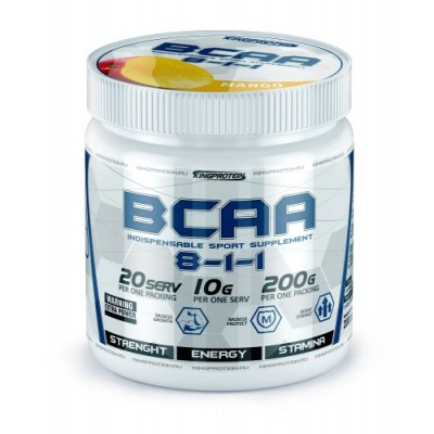 KING PROTEIN BCAA (8-1-1), 200 g