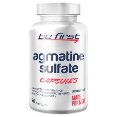 Оксид азота BE FIRST AGMATINE SULFATE, 90 шт