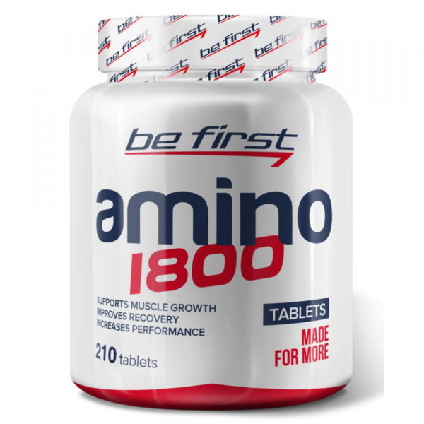 Комплекс аминокислот BE FIRST Amino 1800, 210 капсул