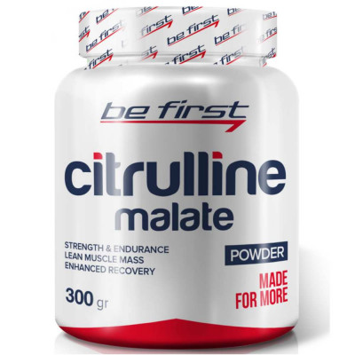 Цитруллин BE FIRST CITRULINE MALATE POWDER, 300 г