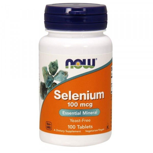 NOW SELENIUM, 100 mcq, 100 капсул