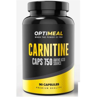 L-карнитин OPTIMEAL L-CARNITINE BLEND, 90 капсул