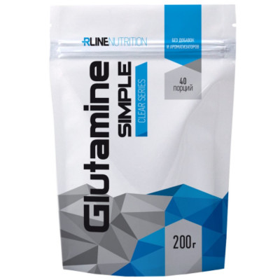 Глютамин RLINE GLUTAMINE POWDER, 200 г