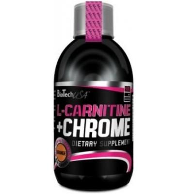 BIOTECH USA L-CARNITINE 35000 мг + CHROME, 500 мл