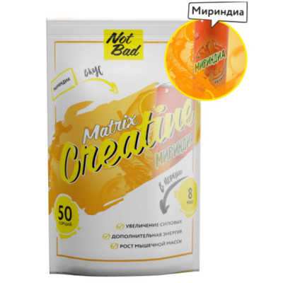 Креатин NOTBAD CREATINE MATRIX, 250 г