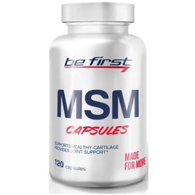 Препарат для связок и суставов BE FIRST MSM, 120 капсул
