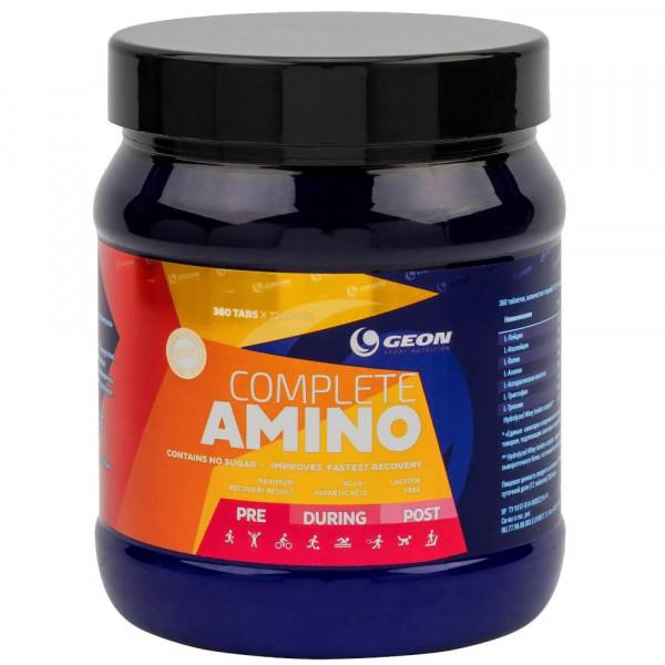Комплекс аминокислот GEON COMPLETE AMINO, 360 tab