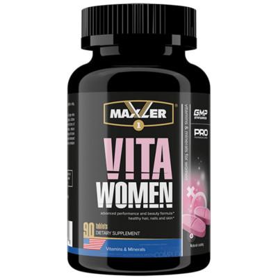 Витаминно-минеральный комплекс MAXLER VITAWOMEN, 90 таблеток