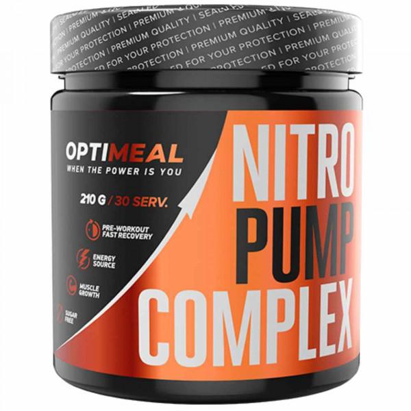 Комплекс аминокислот OPTIMEAL NITRO PUMP COMPLEX, 210 г
