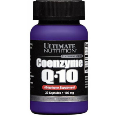 ULTIMATE COENZYME Q10 PREMIUM 100 мг, 30 капсул