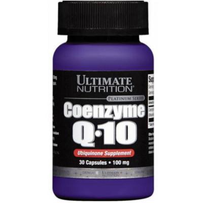 Коэнзим ULTIMATE COENZYME Q10 PREMIUM 100 мг, 30 капсул
