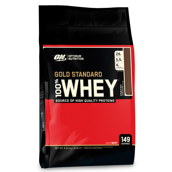 Изолят протеина OPT WHEY PROTEIN NATURAL 100 % GOLD, 4540 г