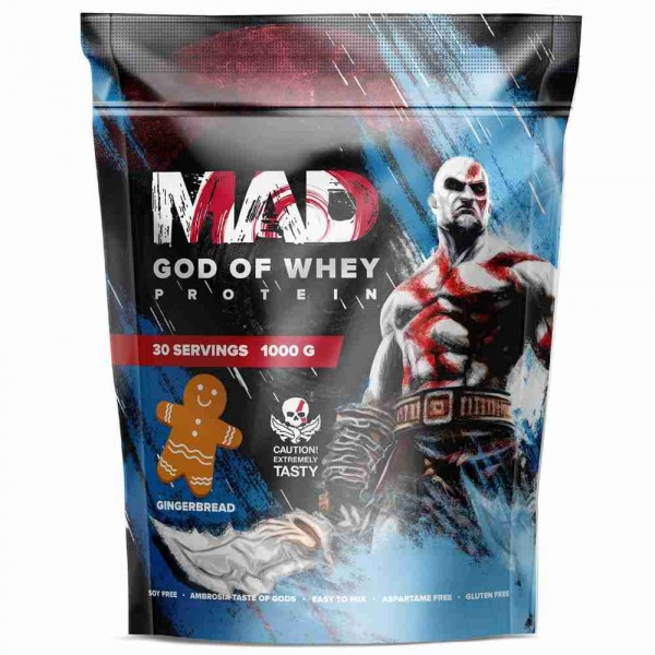 MAD GOD OF WHEY, 1000 г