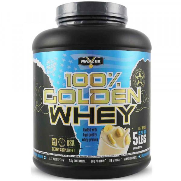 Протеин сывороточный MAXLER GOLDEN WHEY, 2270 г