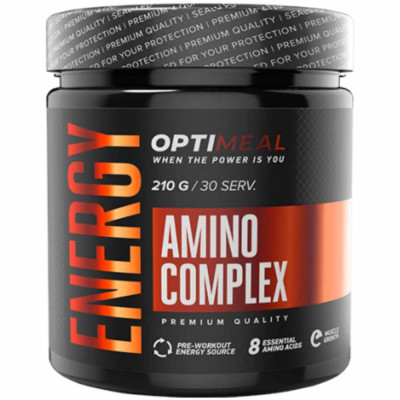 Комплекс аминокислот OPTIMEAL AMINO ENERGY, 210 г