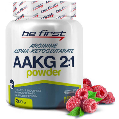 Аргинин BE FIRST AAKG POWDER, 200 г