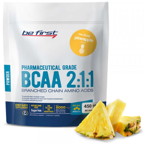 BE FIRST BCAA 2:1:1 POWDER, 450 г