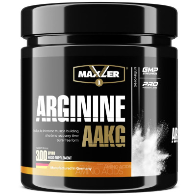 MAXLER ARGININE AAKG, 300 г