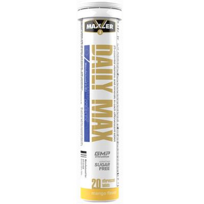 Витаминно-минеральный комплекс MAXLER DAILY MAX, 20 таблеток