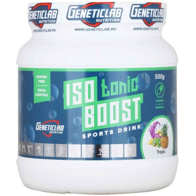 GENETIC LAB ISOTONIC BOOST, 500 г