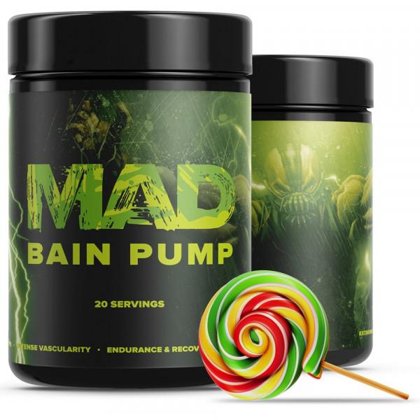 Предтренировочный комплекс MAD BAIN PUMP, 240 г, 20 порций