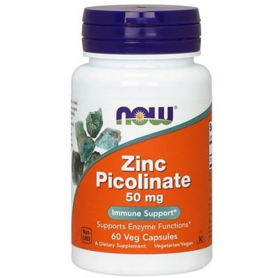 Витаминно-минеральный комплекс NOW ZINC PICOLINATE, 60 капсул