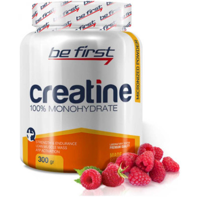 Креатин BE FIRST CREATINE POWDER, 300 г, 54 порции