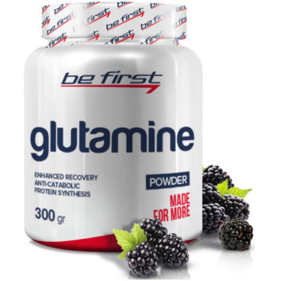 BE FIRST GLUTAMINE POWDER, 300 г, 30 порций