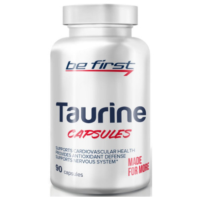 Таурин BE FIRST TAURINE, 90 капсул