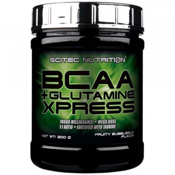 SCITEC NUTRITION BCAA + GLUTAMINE EXPRESS, 300 г