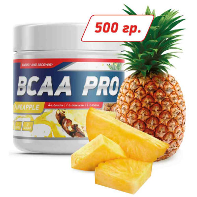 GENETIC LAB BCAA PRO POWDER, 500 г, 40 порций