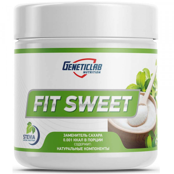 Сахарозаменитель GENETIC LAB FIT SWEET, 200 г