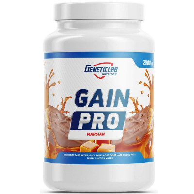 Гейнер GENETIC LAB GAIN PRO, 2000 г, 20 порций