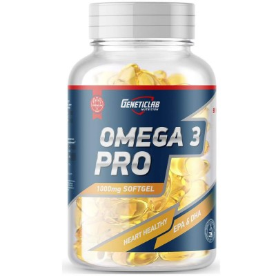 GENETIC LAB OMEGA 3-6-9 PRO 1000 mg, 90 капсул